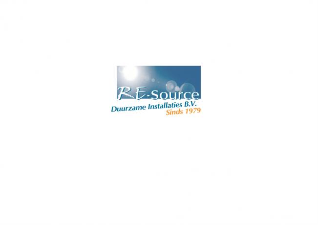 Logo RE-Source Duurzame Installaties